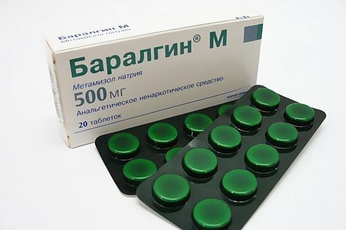 упаковка таблеток баралгин м