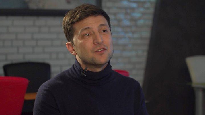 Новым президентом на выборах в Украине в 2019 году стал Владимир Зеленский