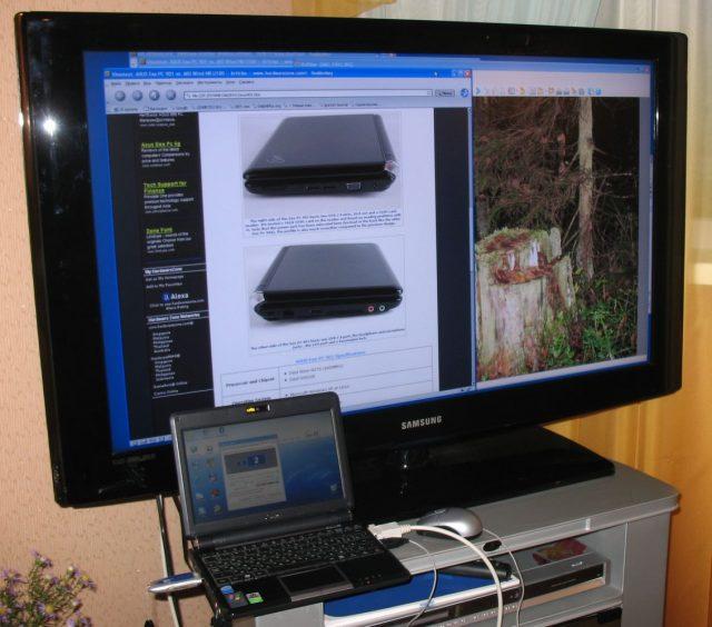 Как подключить ноутбук к телевизору