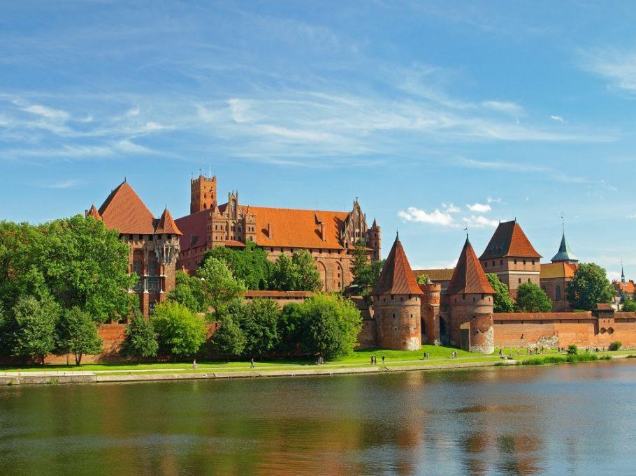 Замок тевтонских рыцарей