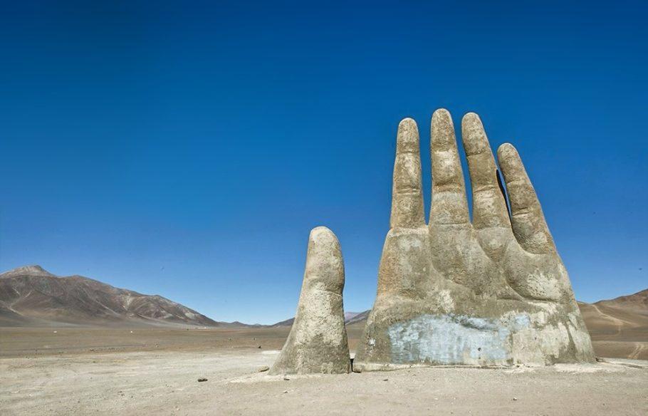 «Рука пустыни» в Чили