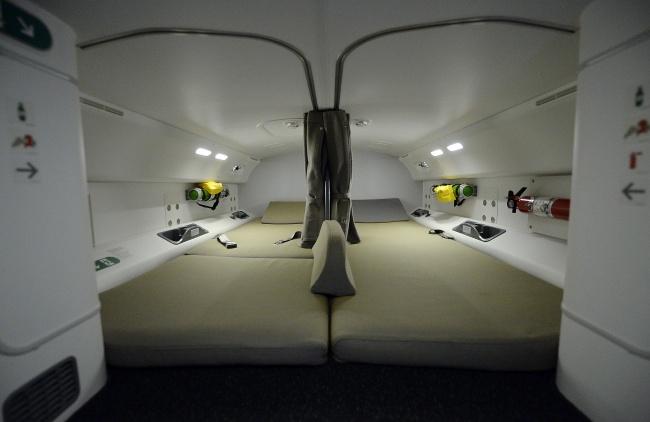 Комнаты отдыха для экипажа самолета