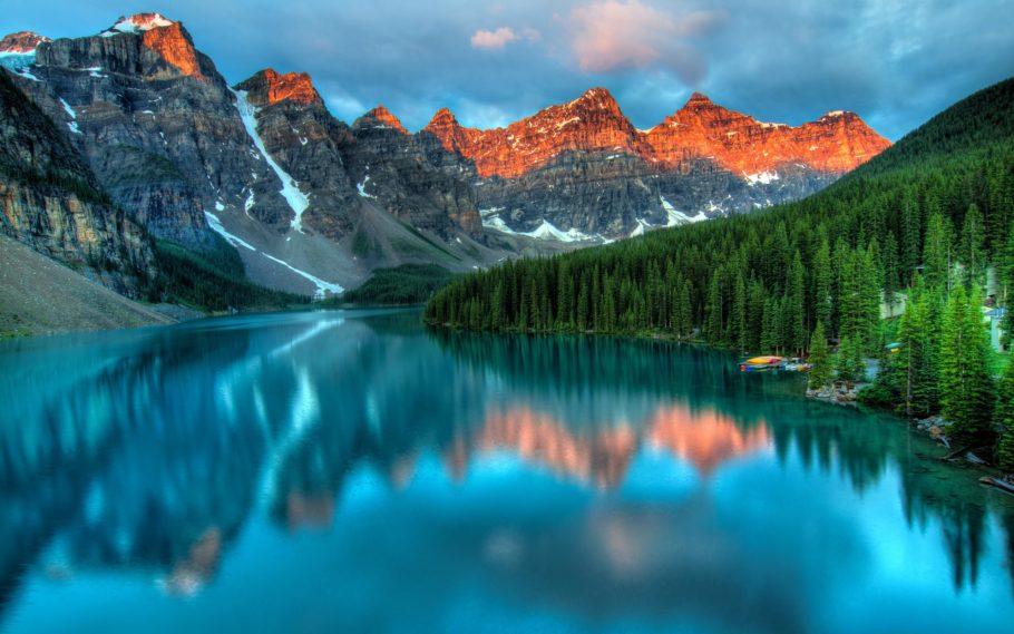 Ледниковое озеро Морейн