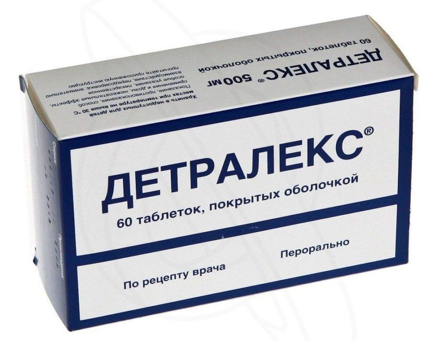 упаковка таблеток детралекс