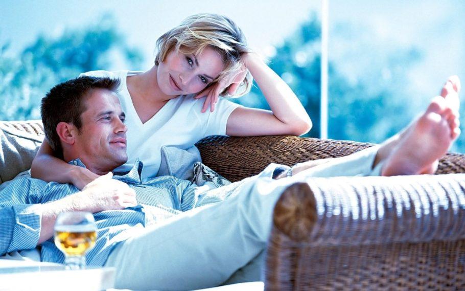 мужчина и женщина вместе