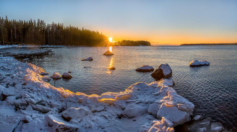 Финский залив в Ленинградской области