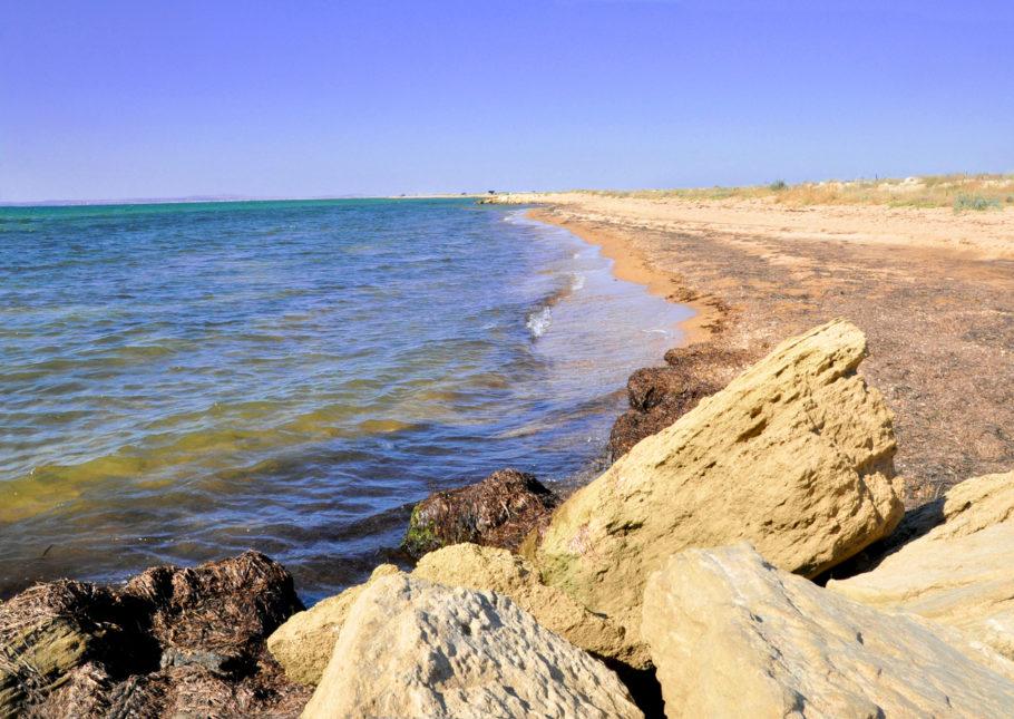 Таманский полуостров в Краснодарском Крае