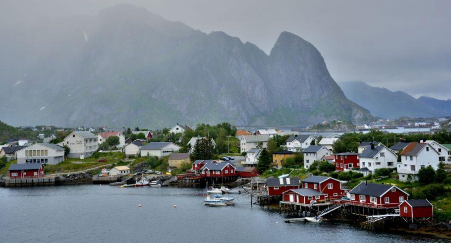 Рыбаки в Норвегии
