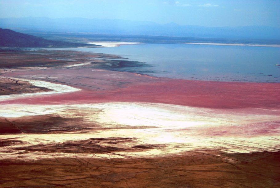 Танзания, озеро Натрон
