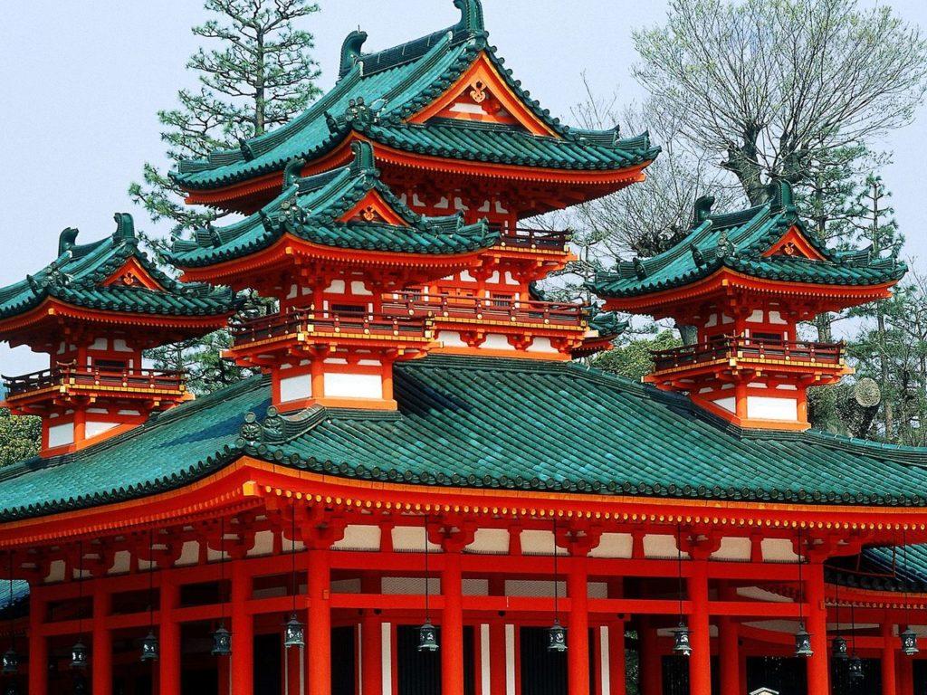 Крыша в Китае