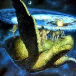 Плоская земля на спине черепахи