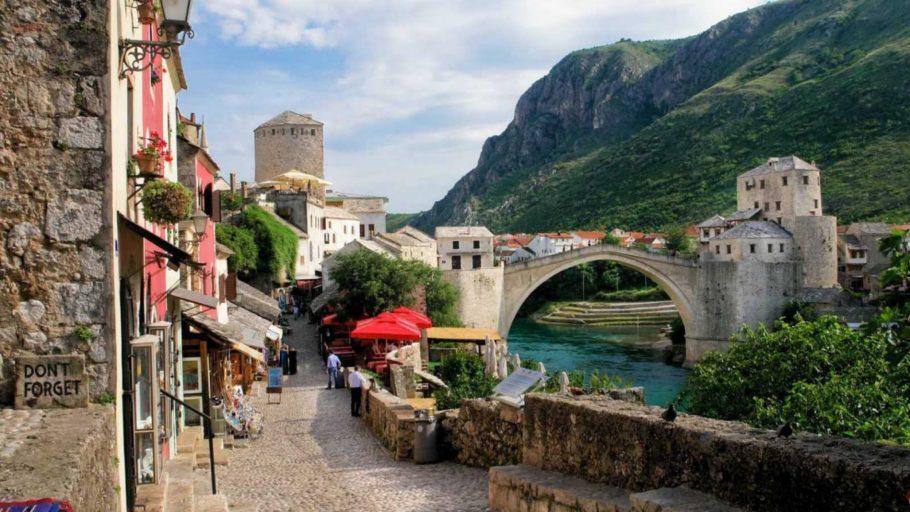 Боснийский Мостар