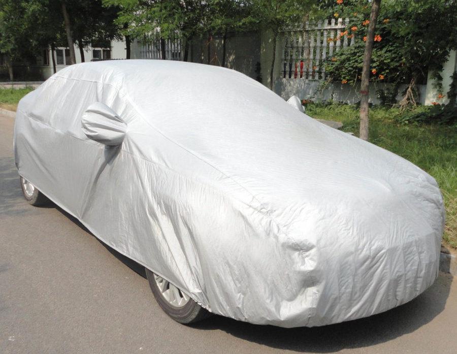Автомобиль под чехлом