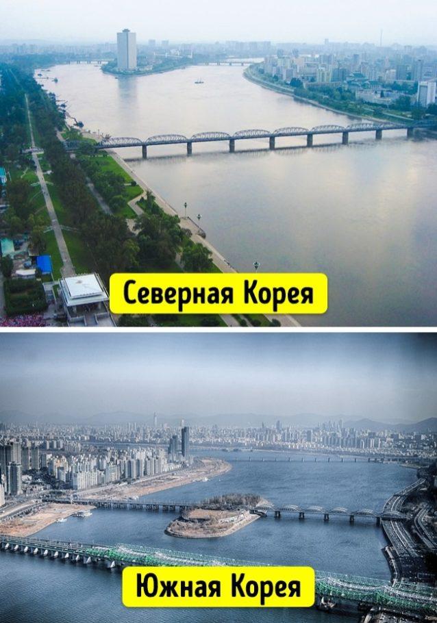 Мосты в Северной и Южной Кореи