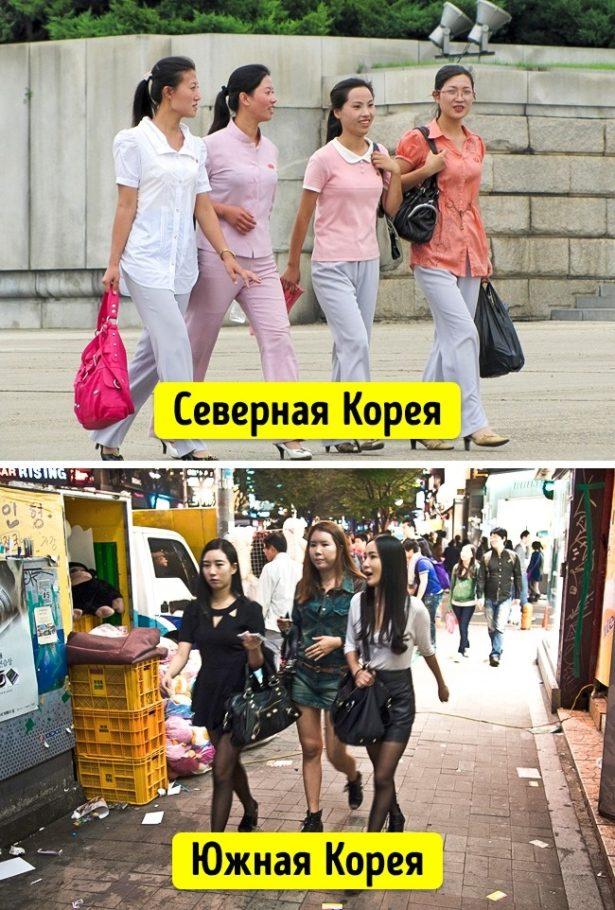 Одежда женщин Северной и Южной Кореи