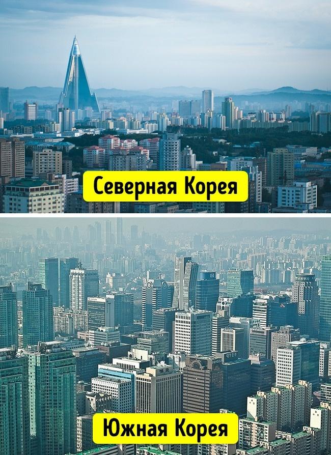 Столици Северной и Южной Кореи