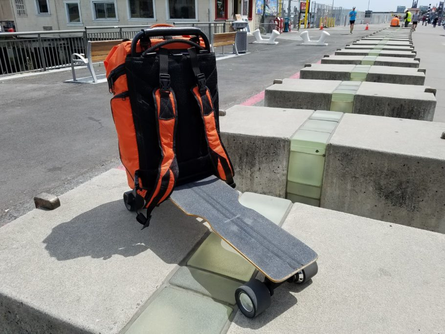 Электрический скейт Movpak