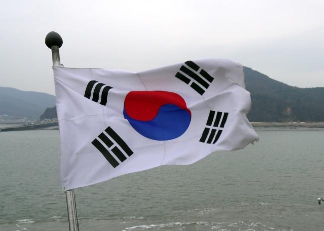 корейскийй флаг