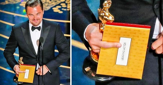 Леонардо Ди Каприо, получивший наконец свою долгожданную статуэтку «Оскар»
