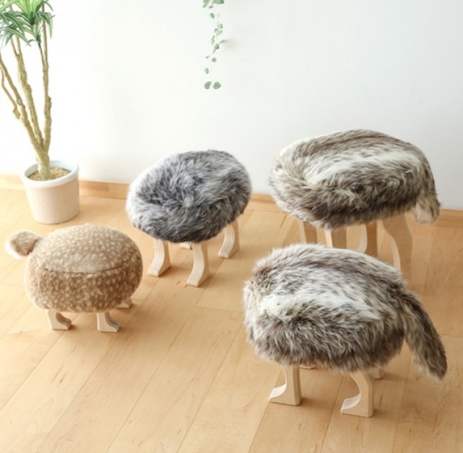 Табуретки-животные