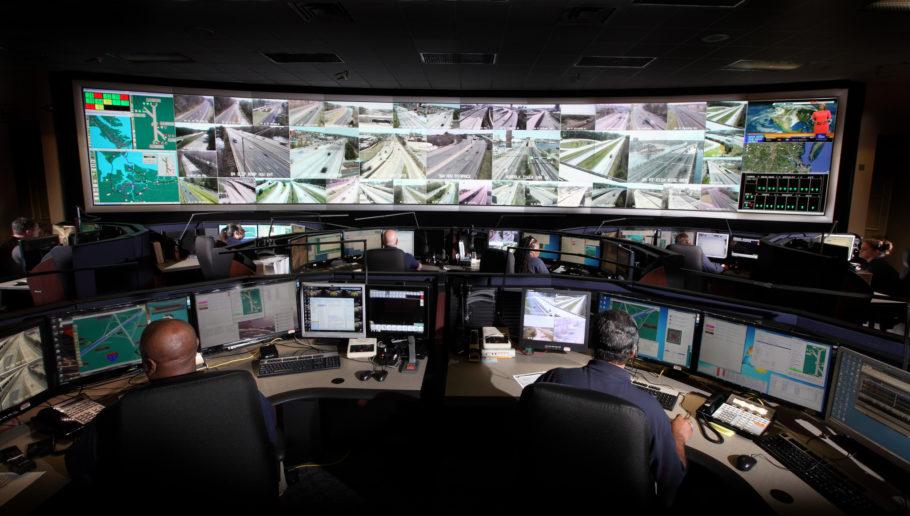 Центр экстренных операций в Вирджинии