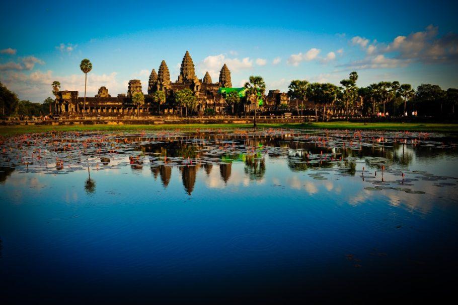 Камбоджийский Ангкор-ват