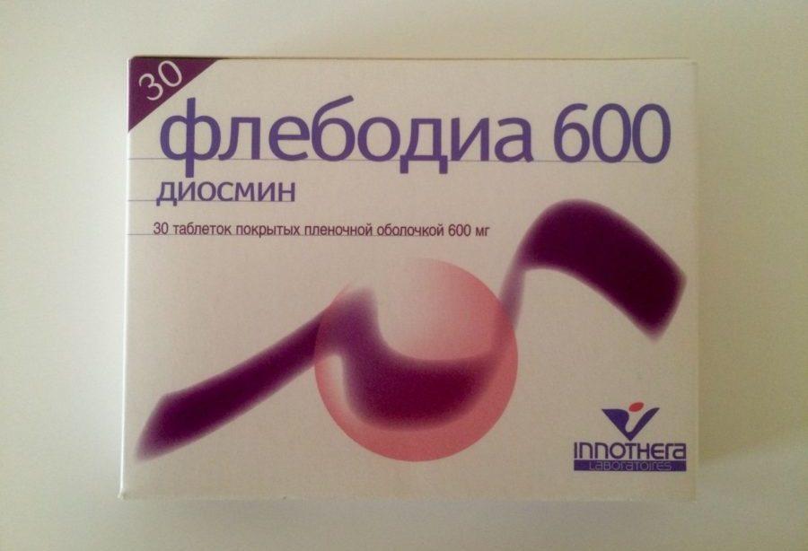 Флебодиа 600 хорошо всасывается в плазму крови из ЖКТ, где наблюдается спустя 2 часа со времени приёма