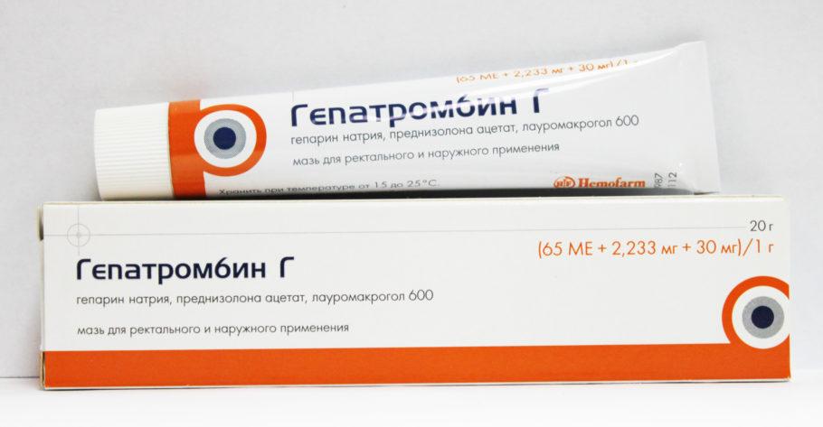 Это средство на основе гепарина, который вырабатывается медицинской пиявкой и является антикоагулянтом прямого действия