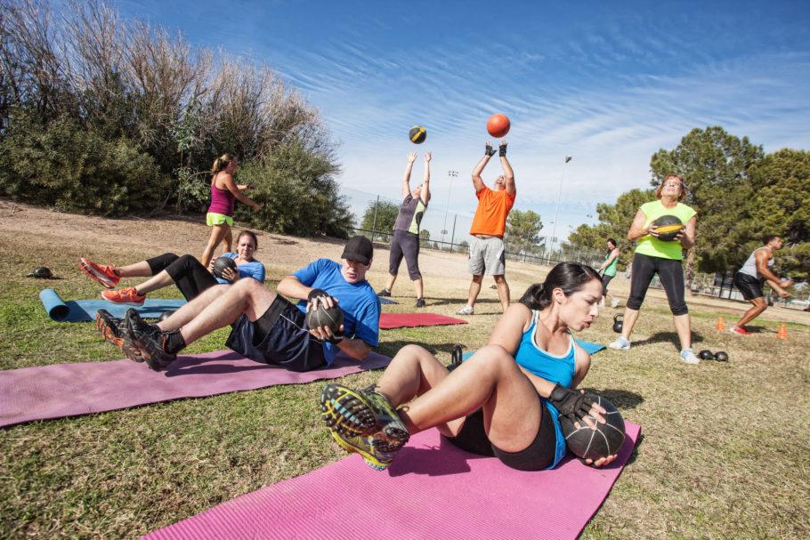 Предпочитаемые упражнения летом, должны быть связаны, как мы говорили, с упражнениями с собственным весом