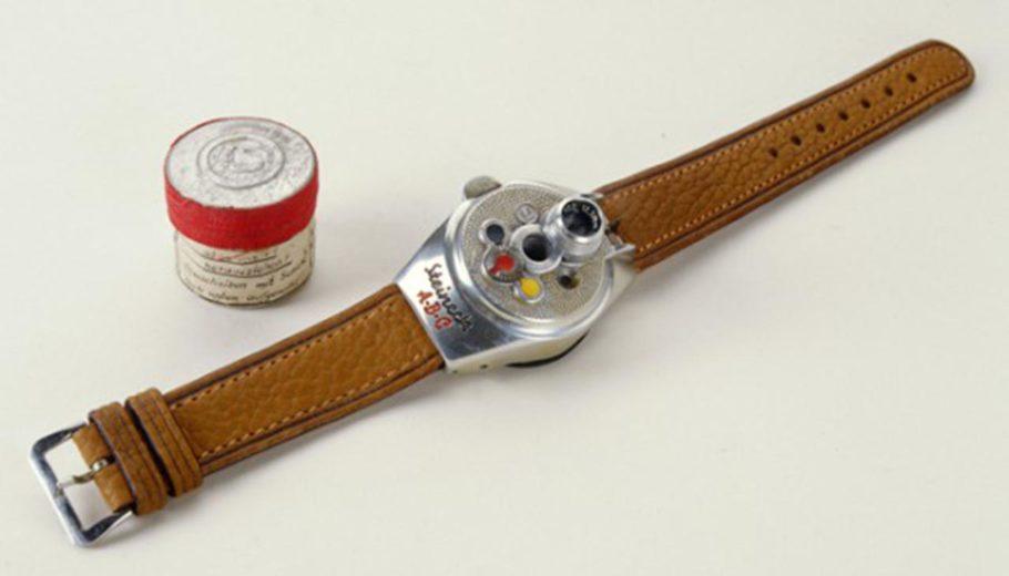 шпионские часы с камерой