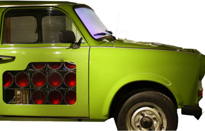 инфракрасные сканеры и записывающие устройства в дверцах машины