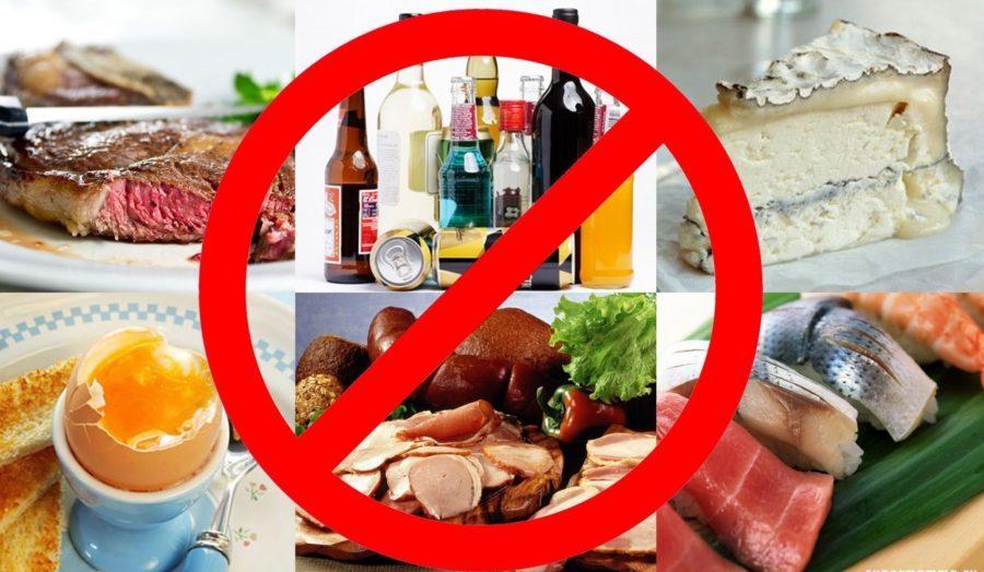 запрещенные продукты при варикозе