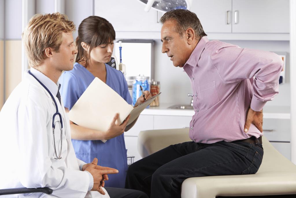 Боли в пояснице при простатите: может ли болеть спина при воспалении простаты и почему