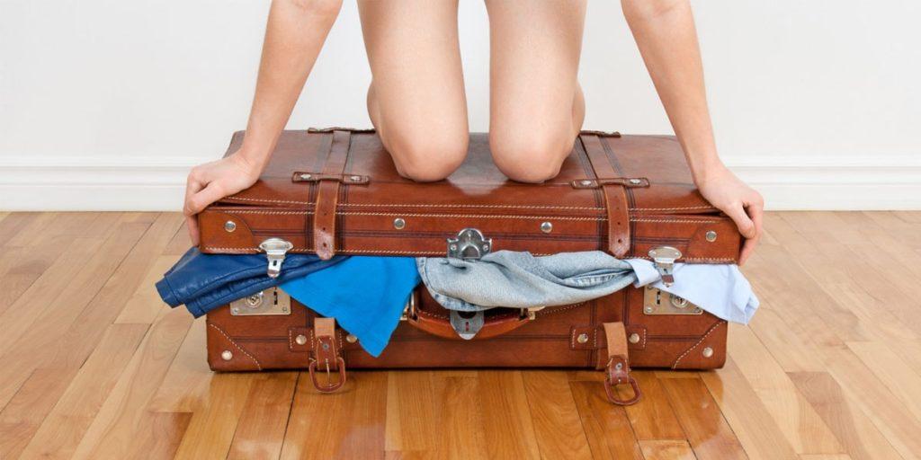 Закрыть чемодан