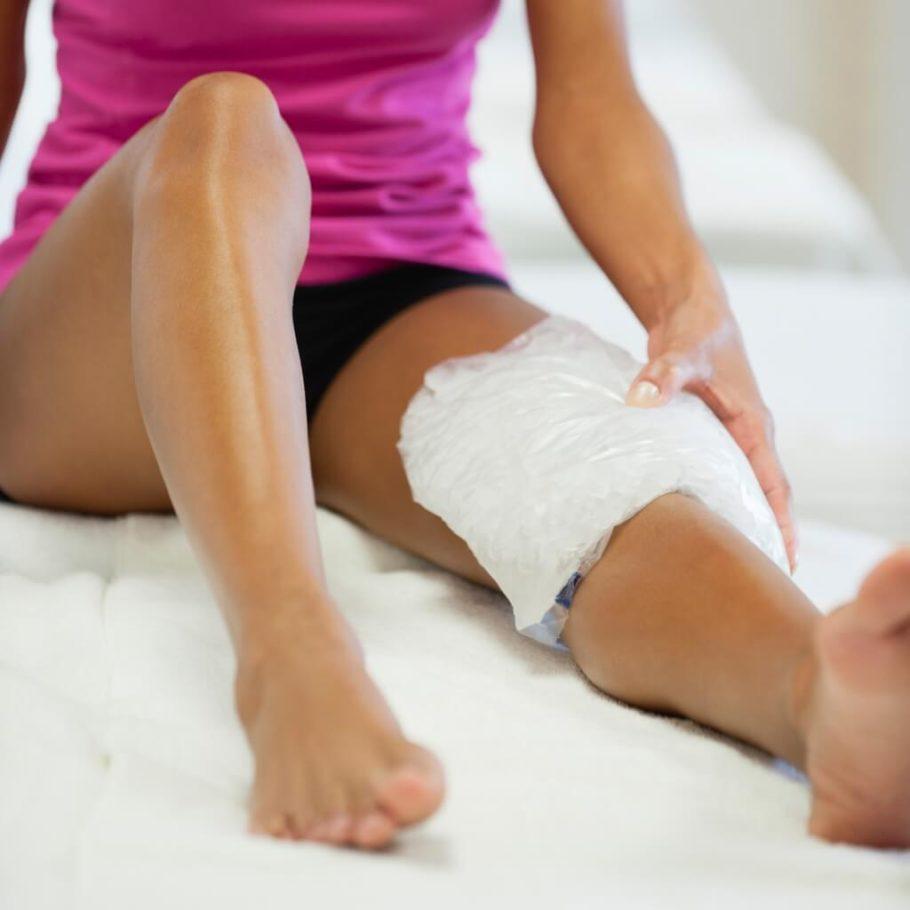 компресс на ноге