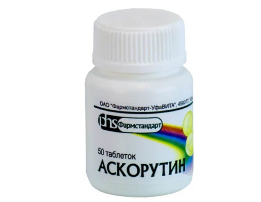 Витамины E и C, Рутин, Антистакс, Гинкор-Форт, флавоноиды