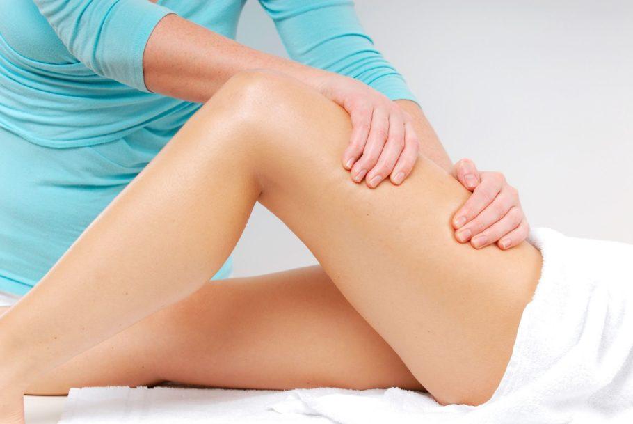 массаж ног