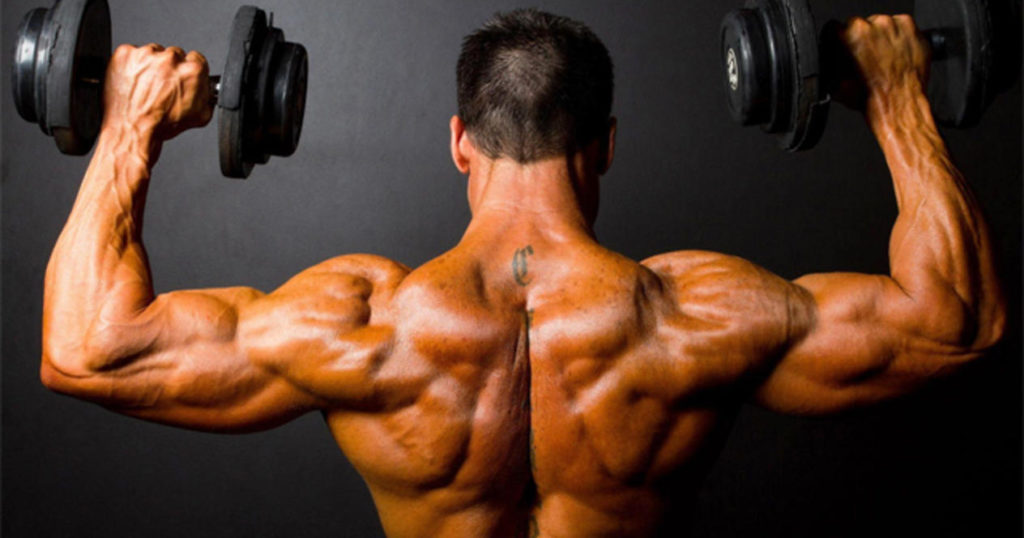 Упражнение с гантелями для мужчин