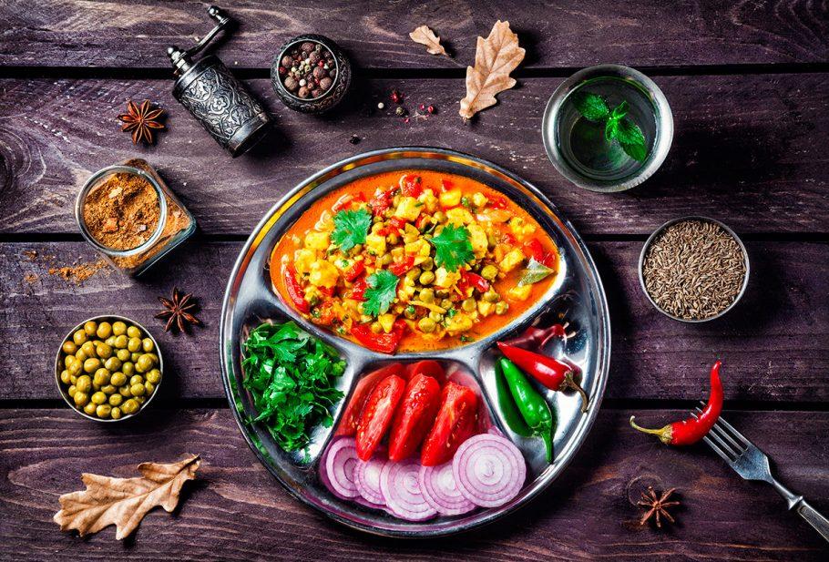 Вегетарианское блюдо