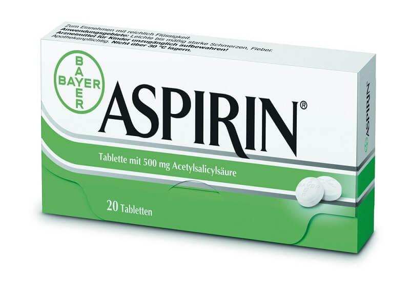 Упаковка таблеток Аспирин