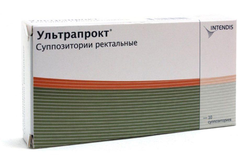 Упаковка свечей Ультрапрокт