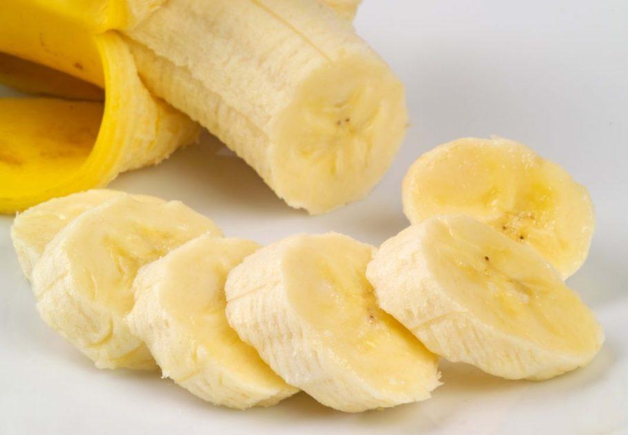 нарезанный банан