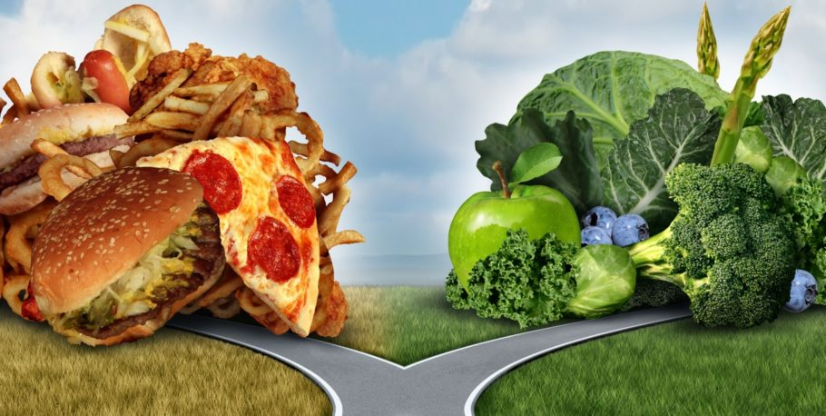 Вредная еда или здоровая пища