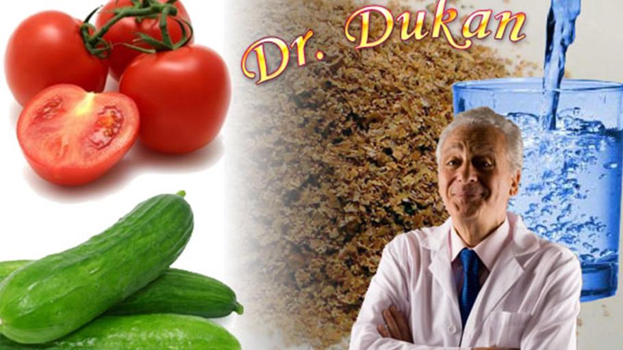 Дюкан и овощи