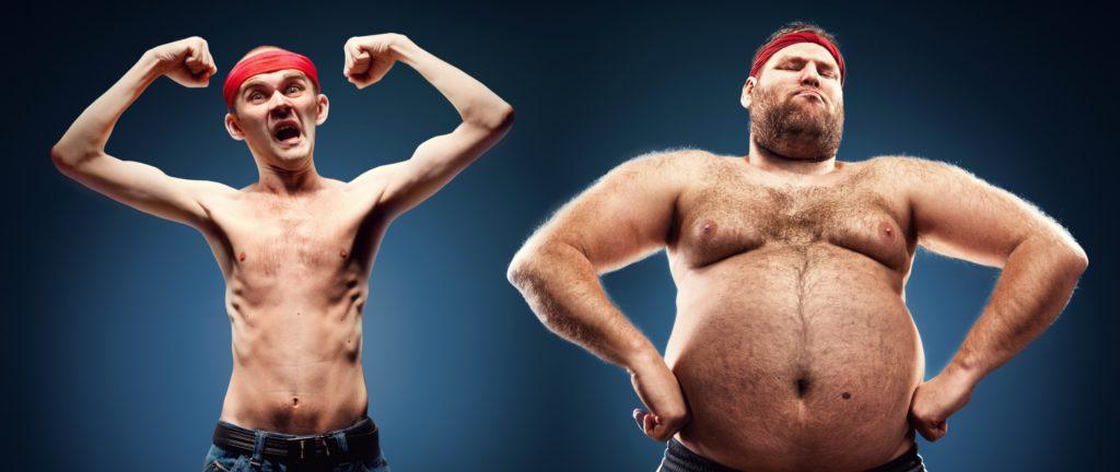 Как быстро набрать вес худому человеку