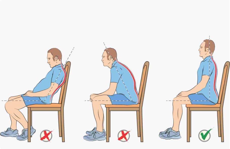 Выступающие узлы причиняют боль, многие пациенты предпочитают пристраиваться на самом краешке стула или вовсе не опускаться на него