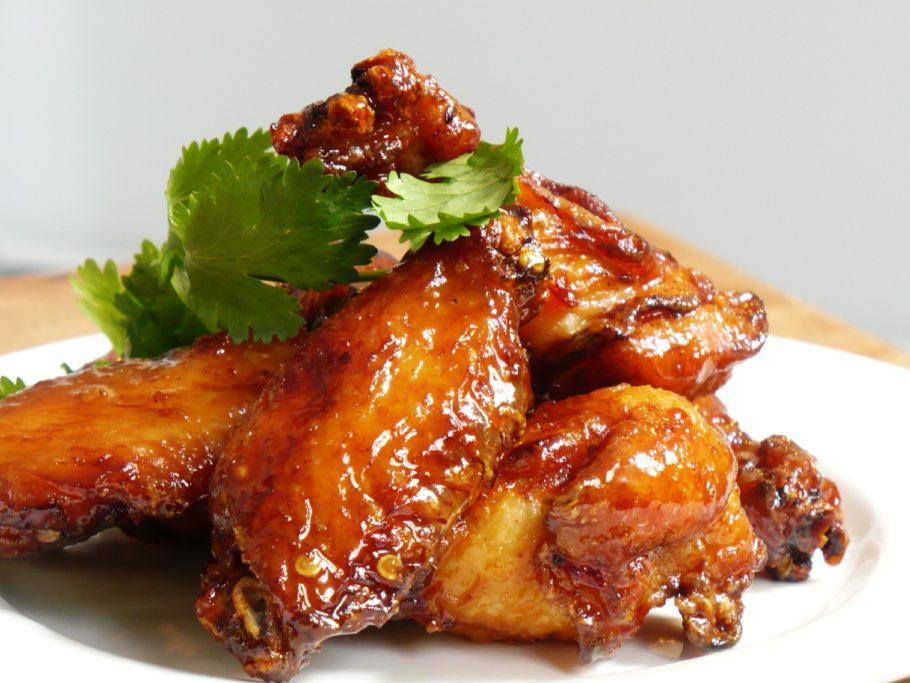 куриные крылышки в медовом маринаде
