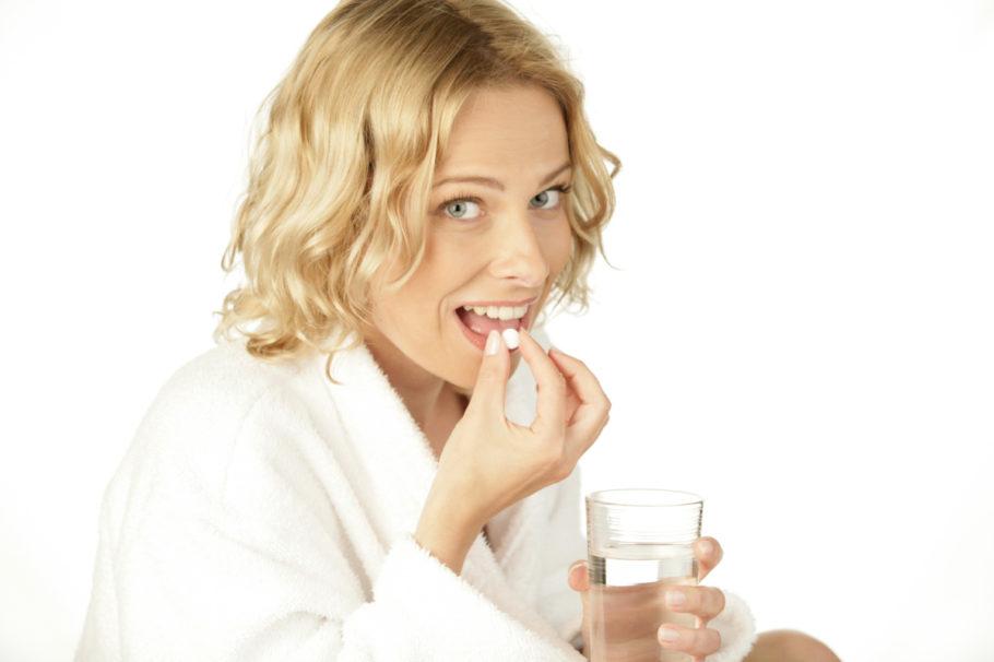 Пить таблетки нужно во время или после еды