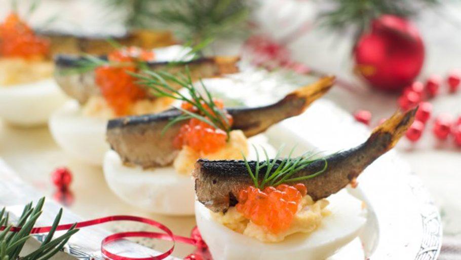 Закуска «Рыбий вальс»