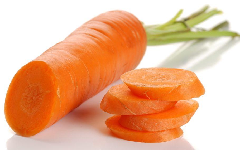 морковь в разрезе